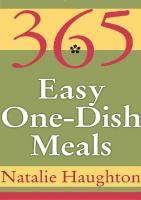 365 Easy One-Dish Meals (365 Ways)