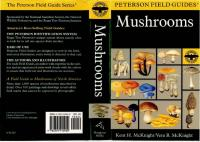A Field Guide to Mushrooms: North America (Peterson Field Guide)