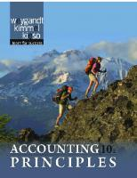 Accounting Principles, 10th Edition