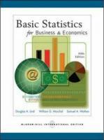 Basic Statistics for Business & Economics (Business Statistics)