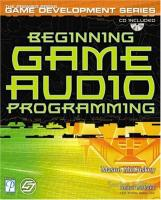 Beginning Game Audio Programming