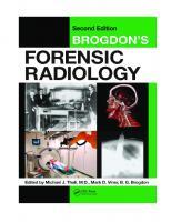 Brogdon's Forensic Radiology, Second Edition