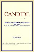 Candide (Webster's Spanish Thesaurus Edition)
