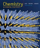 Chemistry and Chemical Reactivity, Sixth Edition