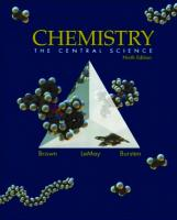 Chemistry.. the central science