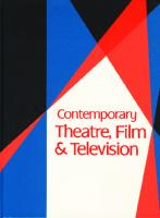 Contemporary Theatre, Film & Television: A Biographical Guide Featuring Performers, Directors, Writers, Producers, Designers, Managers, Choreographers, ... ; Volume 77
