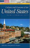 Culture and Customs of the United States (2 volumes Set)