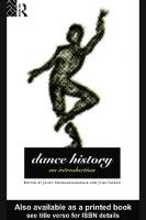 Dance history: an introduction