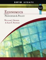 Economics: Principles and Policy, 11th Edition