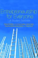 Entrepreneurship for Everyone: A Student Textbook