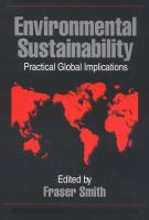 Environmental Sustainability: Practical Global Applications