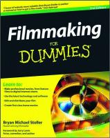 Filmmaking For Dummies, 2nd Edition (For Dummies (Career Education))