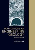 Foundations of Engineering Geology (Second Edition)