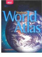Holt Student World Atlas 2007