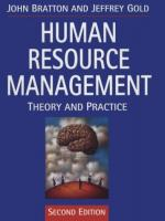 Human Resource Management: Theory and Practice