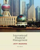 International Financial Management , Ninth Edition