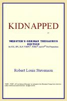 Kidnapped (Webster's German Thesaurus Edition)
