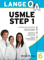 Lange Q&A: USMLE Step 1, 6th Edition