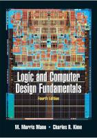 Logic and Computer Design Fundamentals (4th Edition) Solutions textbook