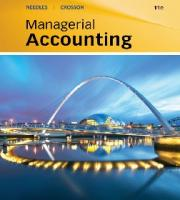 Managerial Accounting, 9th Edition