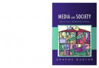 Media and Society: Critical Perspectives