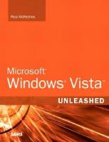 Microsoft Windows Vista Unleashed