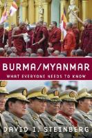 Myanmar: What Everyone Needs to Know
