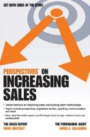 Perspectives on Increasing Sales