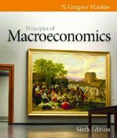 Principles of Macroeconomics , Sixth Edition