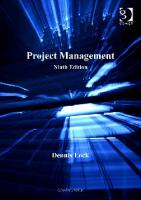 Project Management, 9th Edition