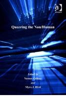 Queering the Non Human (Queer Interventions)