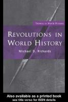 Revolutions in World History (Themes in World History)