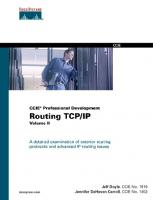 Routing TCP IP, Volume II (CCIE Professional Development)