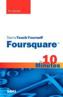 Sams Teach Yourself Foursquare in 10 Minutes