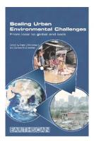 Scaling Urban Environmental Challenges: From Local to Global and Back