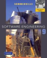 Software Engineering, 9th Edition