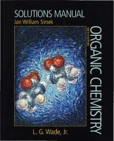 Solutions Manual for Organic Chemistry, Sixth Edition