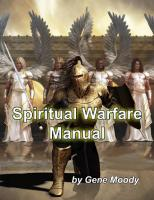 Spiritual Warfare Deliverance Manual