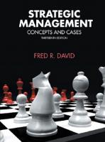 Strategic Management, 13th Edition