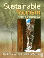 Sustainable Tourism: a global perspective