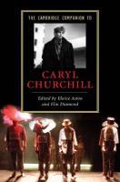 The Cambridge Companion to Caryl Churchill (Cambridge Companions to Literature)