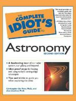 The Complete Idiot's Guide to Astronomy (Complete Idiot's Guide To...)