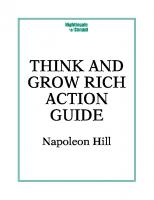 The Think and Grow Rich Action Guide