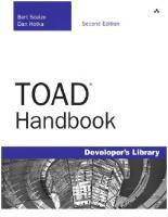 TOAD Handbook (2nd Edition)