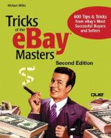 Tricks of the eBay Masters (2nd Edition)